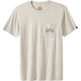 Prana Hollis Pocket - Camiseta manga corta Hombre - beige